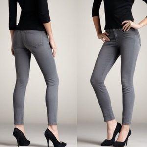 J Brand • 811 Wink Midrise Gray Skinny Jeans.